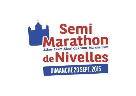 Le nouveau logo du Semi Marathon de Nivelles