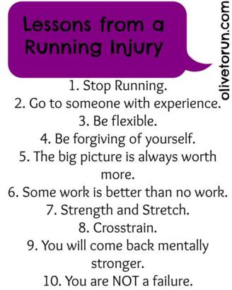 Dix choses à faire en cas de blessure
