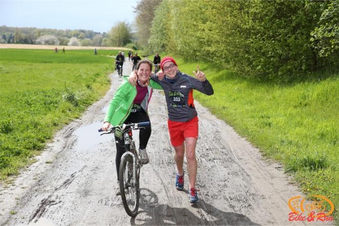 Le Run & Bike à travers bois et campagne - crédit photo : damdam.be