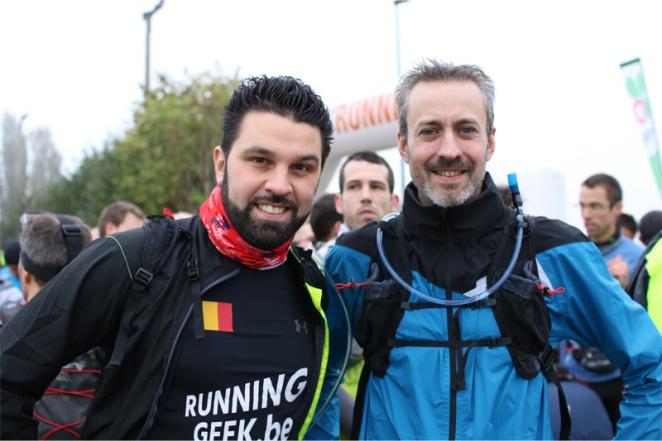 Avec Kaïs - crédit photo : RunningGeek.be