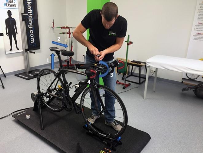 Les 3 réglages de la position sur le vélo