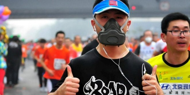 Au marathon de Pékin - crédit photo : AFP